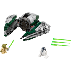 LEGO Star Wars Yoda's Jedi Starfighter 75168