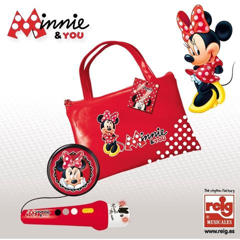 Reig Musicales Geanta cu microfon si amplificator Minnie Mouse
