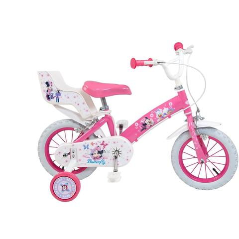"Toimsa Bicicleta 12"" Minnie Mouse Club House"