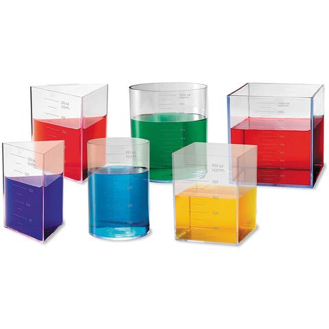 Learning Resources Set recipiente pentru laborator (capacitate 1 l)