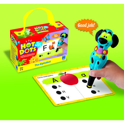 "Educational Insights Carduri Junior HOT DOTS ""Alfabetul"""