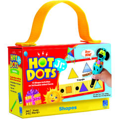 "Carduri Junior HOT DOTS ""Forme geometrice"""