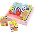 BigJigs Puzzle cubic - safari