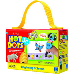 "Educational Insights Carduri Junior Hot Dots ""Stiinta"""