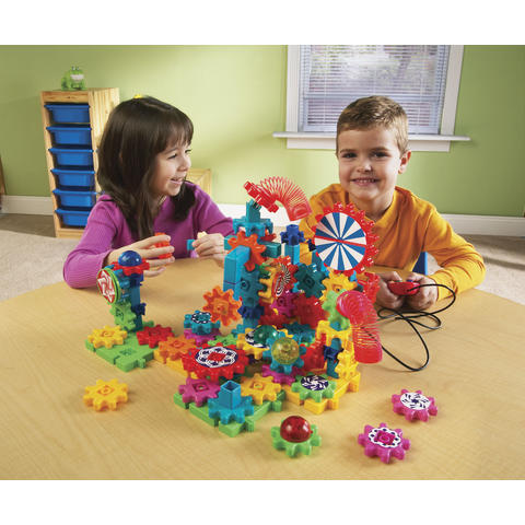 Learning Resources Set motorizat cu rotite Gears Gears