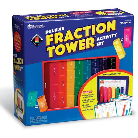 Learning Resources Turnul fractiilor - set activitati