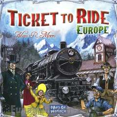 Days of Wonder Ticket to ride - Europa