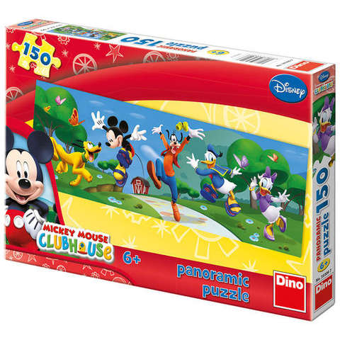 Dino Toys Puzzle - Clubul lui Mickey Mouse - In parc (150 piese)
