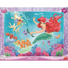Dino Toys Puzzle - Mica Sirena (40 piese)