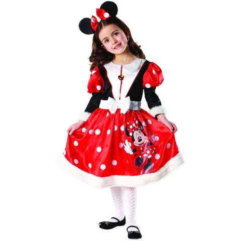 Rubie's Costum de carnaval - WINTER MINNIE MOUSE