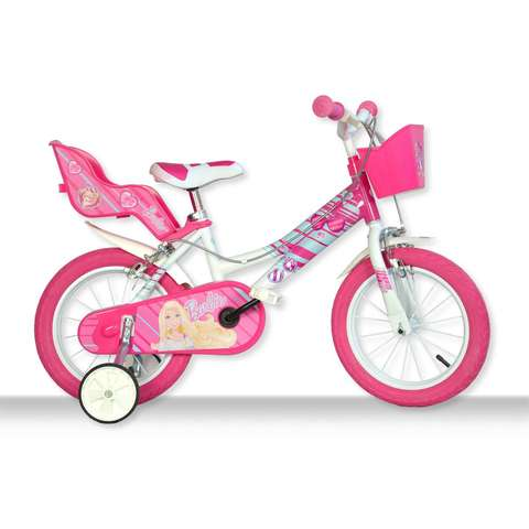 DINO BIKES Bicicleta copii 16'' Barbie