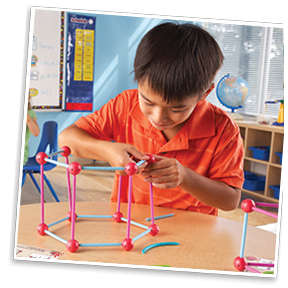 Learning Resources Set constructie - Forme geometrice