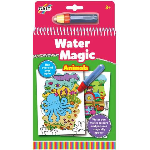 Water Magic: Carte de colorat Animalute