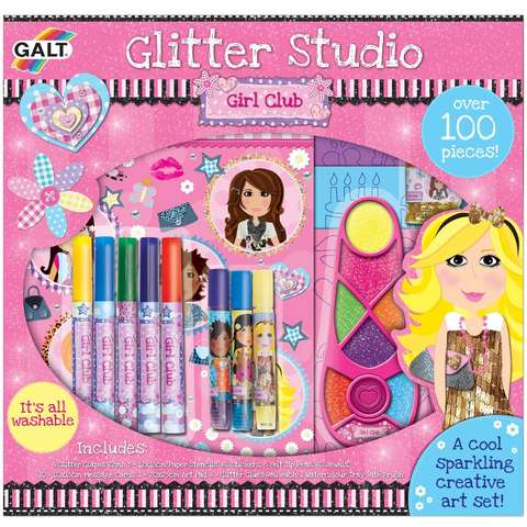 Girl Club: Set de creatie Glitter Studio