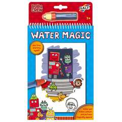 Galt Water Magic: Carte de colorat Roboti