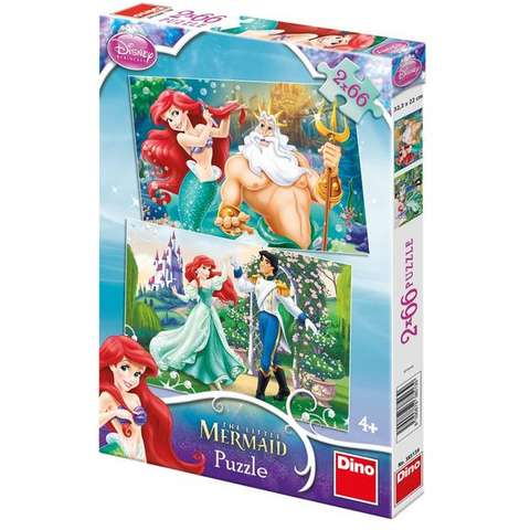 Dino Toys Puzzle 2 in 1 - Ariel (66 piese)
