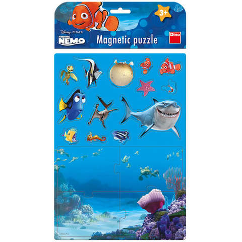 Dino Toys Puzzle magnetic - Nemo (17 piese)