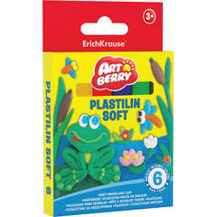 Set plastilina in 6 culori