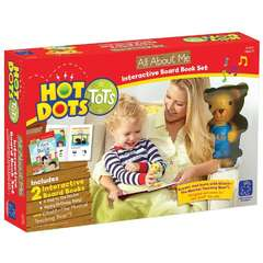 Educational Insights Set Hot Dots - 2 carti interactive- Totul despre mine