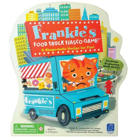 Educational Insights Camionul cu bunatati al lui Frankie