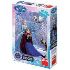 Dino Toys Puzzle NEON - Frozen (100 piese)