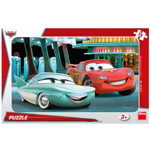 Puzzle - Cars (15 piese)