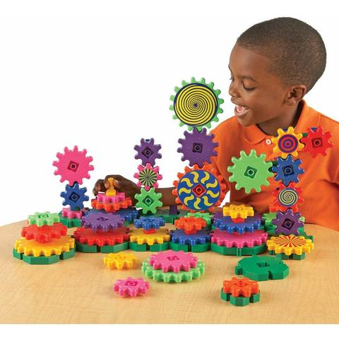 Learning Resources Set de constructie - Gears! Wacky Factory