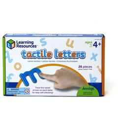 Learning Resources Set tactil - Litere