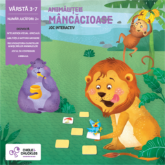 Chalk and Chuckles Joc interactiv - Animalutele mancacioase