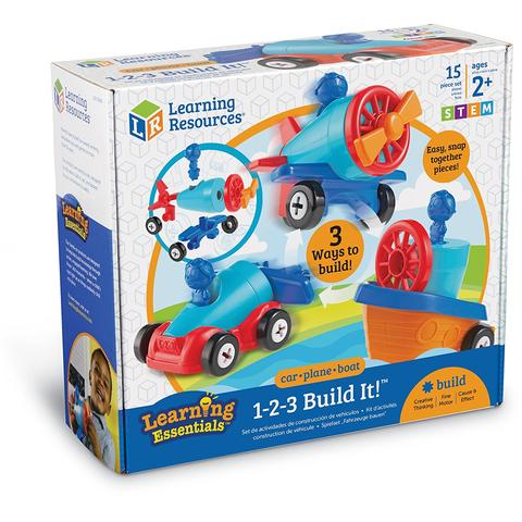 Learning Resources Joc de indemanare - 1, 2, 3  Hai sa construim