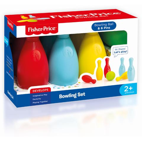 Fisher Price Set bowling colorat