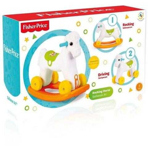 Fisher Price Jucarie 2 in1 - Calut balansoar