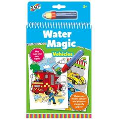 Water Magic: Carte de colorat Vehicule