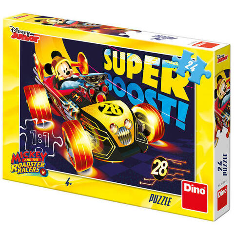 Dino Puzzle - Clubul lui Mickey Mouse (24 piese)