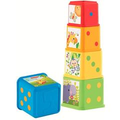 Cuburi Fisher Price - Stackin Nest Blocks
