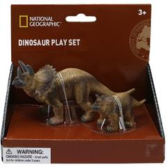 National Geographic Set 2 figurine - Triceratops