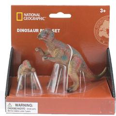 National Geographic Set 2 figurine - Pachycephalosaurus