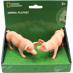 National Geographic Set 2 figurine -  Purcelusi