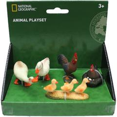National Geographic Set 5 figurine - Pasari de la ferma