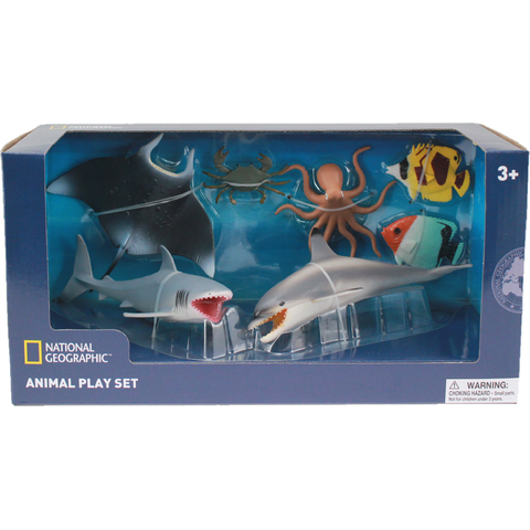 National Geographic Set 7 figurine - Animalute marine