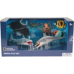 Set 7 figurine - Animalute marine