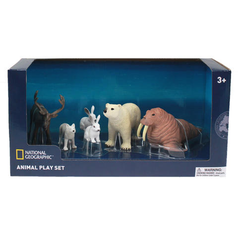 National Geographic Set 6 figurine - Animalute polare