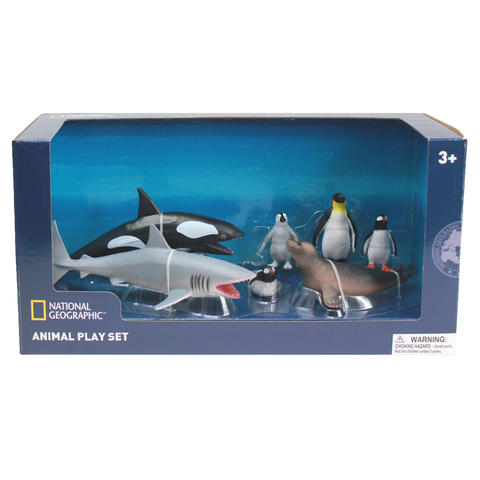National Geographic Set 7 figurine - Animalute polare