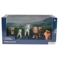 National Geographic Set 6 figurine - Animale din Jungla