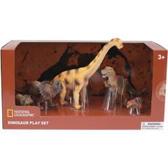 National Geographic Set 5 figurine - Dinozauri fiorosi