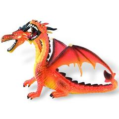 Bullyland Dragon orange cu 2 capete