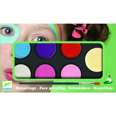 Culori make-up non alergice Djeco, pastel