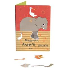 Puzzle magnetic cu animale