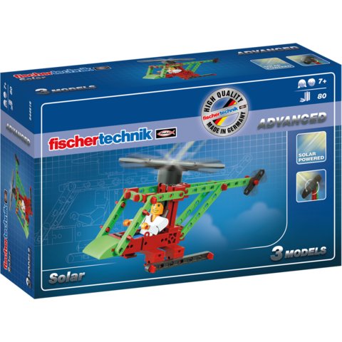 Fischertechnik Set constructie ADVANCED Solar - 3 modele