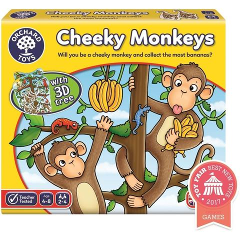 Orchard Toys Joc educativ Cheeky Monkeys